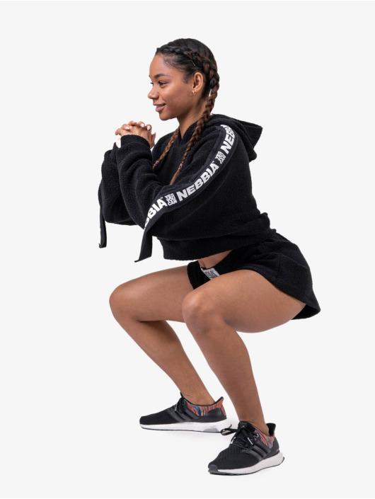Nebbia Shorts Shorts schwarz