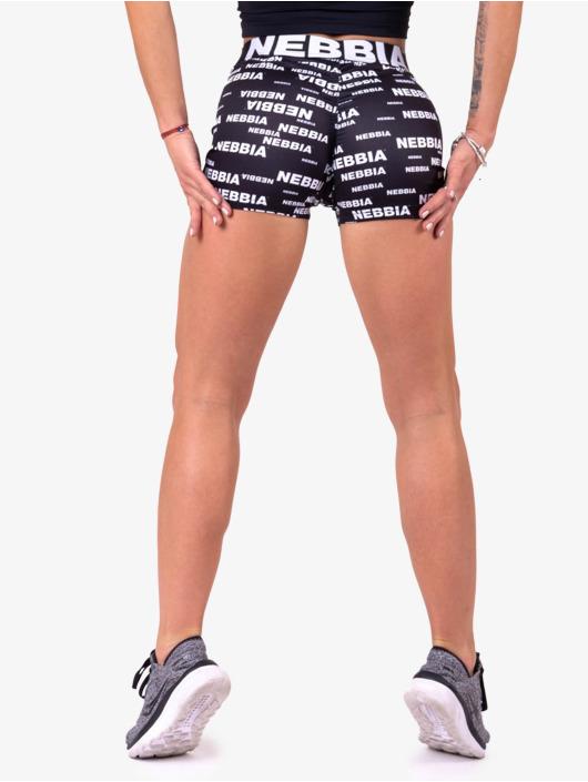 Nebbia Shorts Recycled Ocean Plastic schwarz