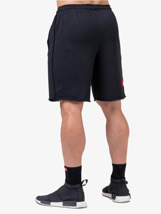 Nebbia Shortsit Logo musta