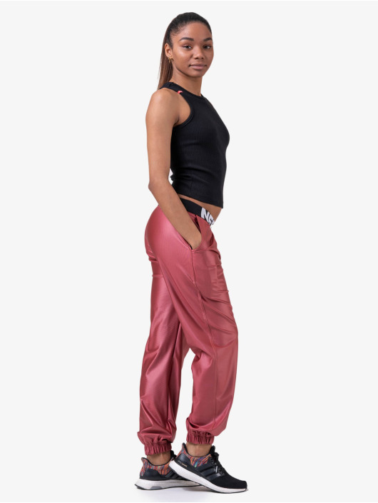 Nebbia Spodnie do joggingu Metallic pink