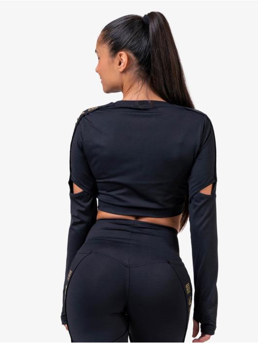 Nebbia T-Shirt manches longues Honey Bunny noir