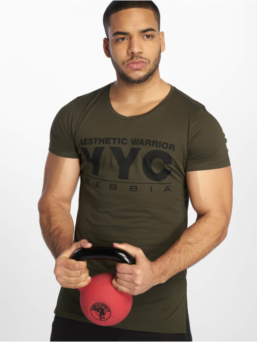 Nebbia T-Shirt Aesthetic Warrior olive