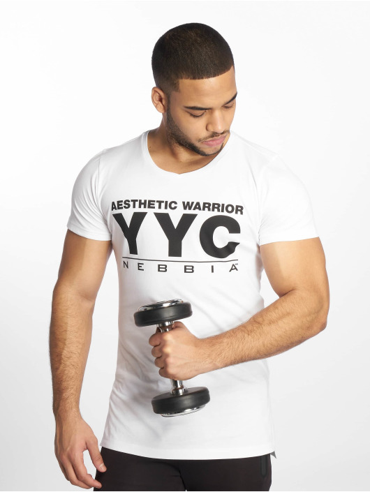 Nebbia T-Shirt Aesthetic Warrior white
