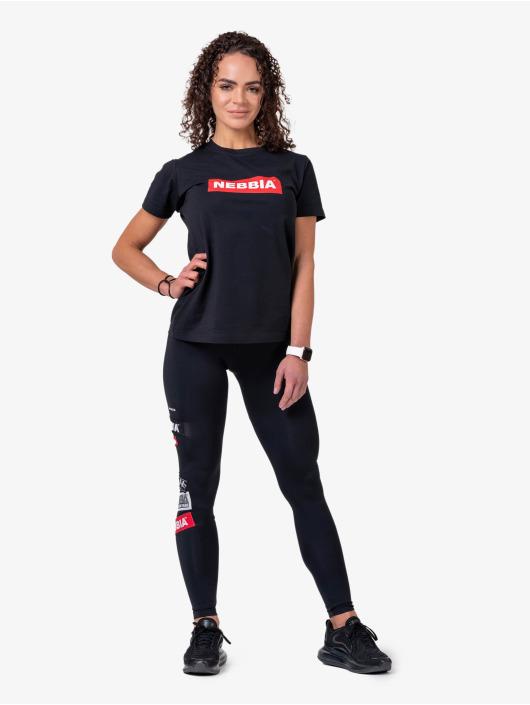 Nebbia T-Shirty Basic czarny