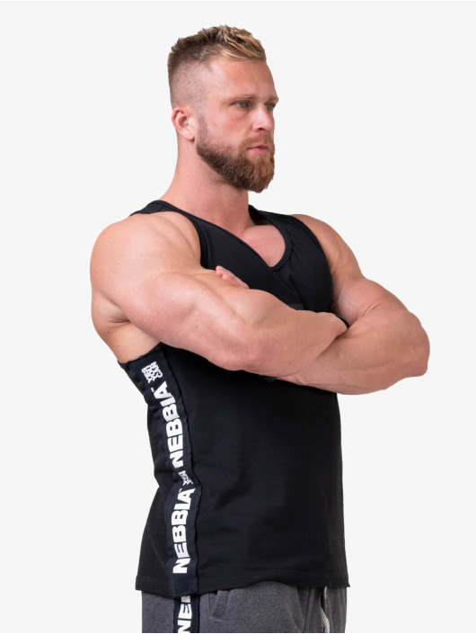 Nebbia Tank Top Your potential is endless svart