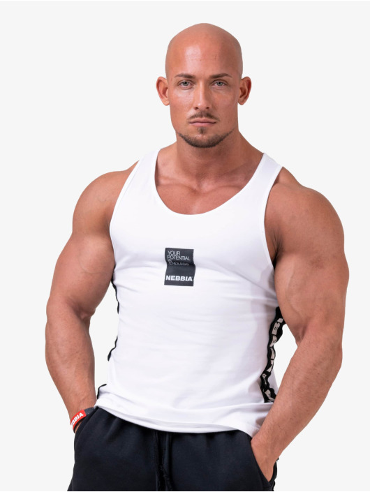 Nebbia Tank Tops Your potential is endless белый