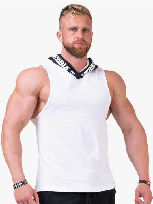 Nebbia Tank Tops No Excuses bialy