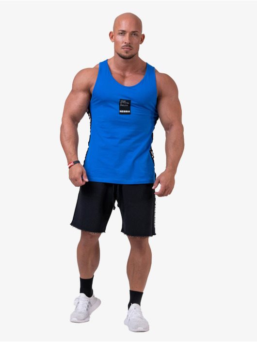 Nebbia Tanktop Your potential is endless blauw