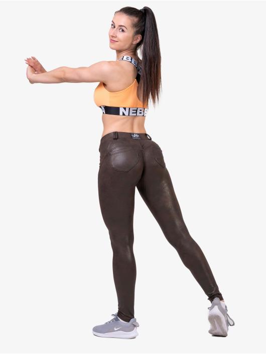 Nebbia Tops Fitness arancio
