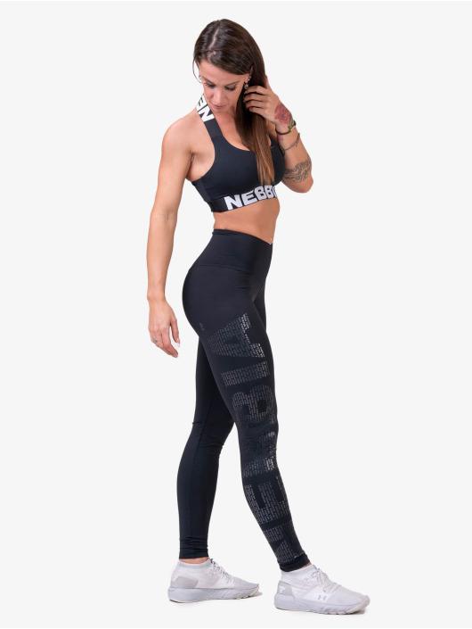 Nebbia Tops Fitness czarny