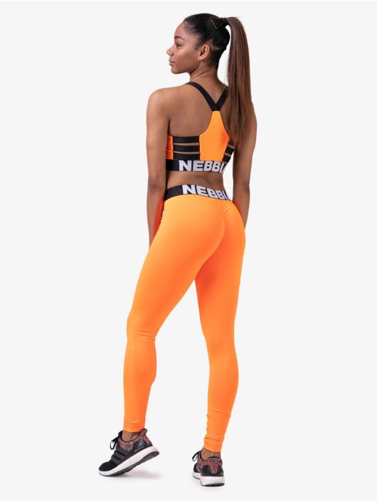 Nebbia Tops Fitness pomaranczowy