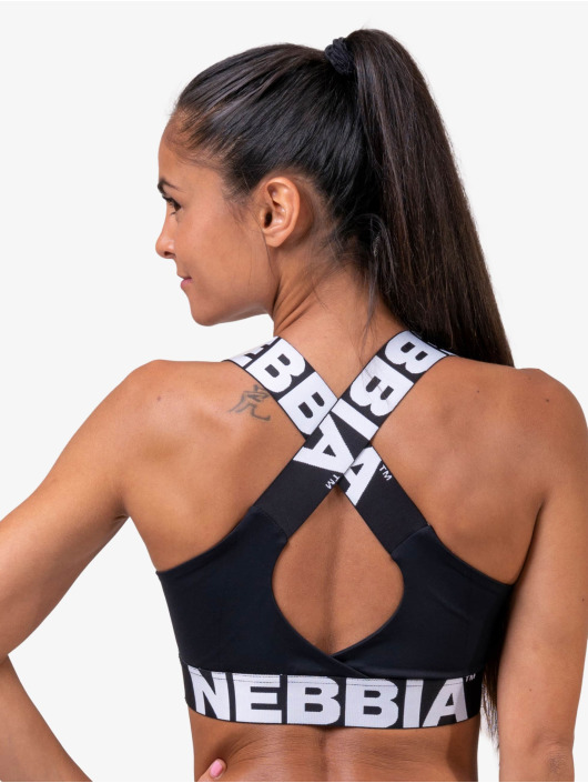 Nebbia Topy Fitness čern