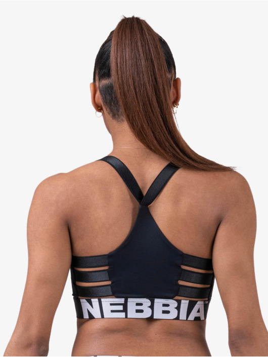 Nebbia Topy/Tielka Fitness èierna