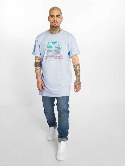 NEFF T-Shirt Get High blue