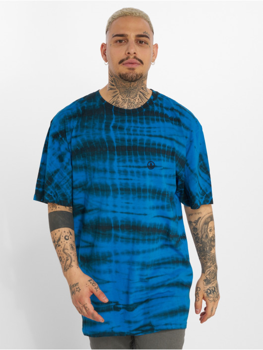 NEFF T-Shirt Shibori Wash blue