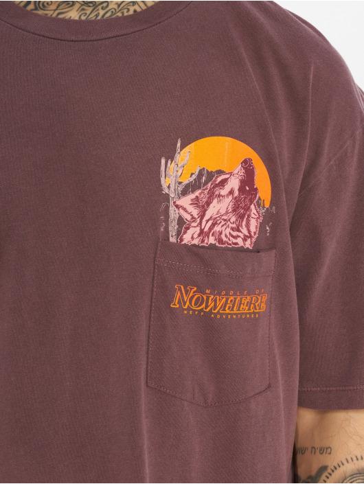 NEFF T-Shirt Peak Pocket red