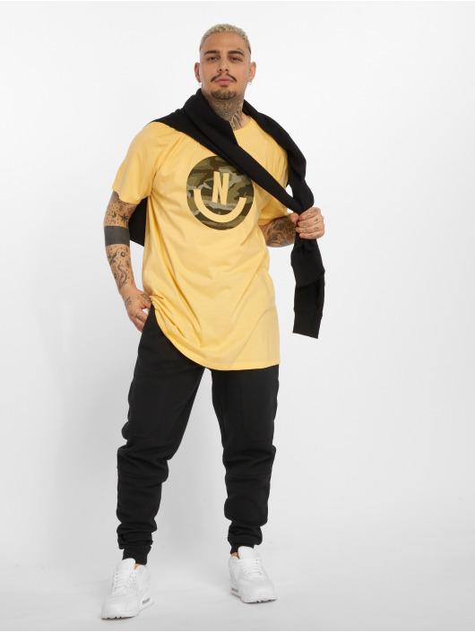 NEFF T-Shirt Smiley yellow