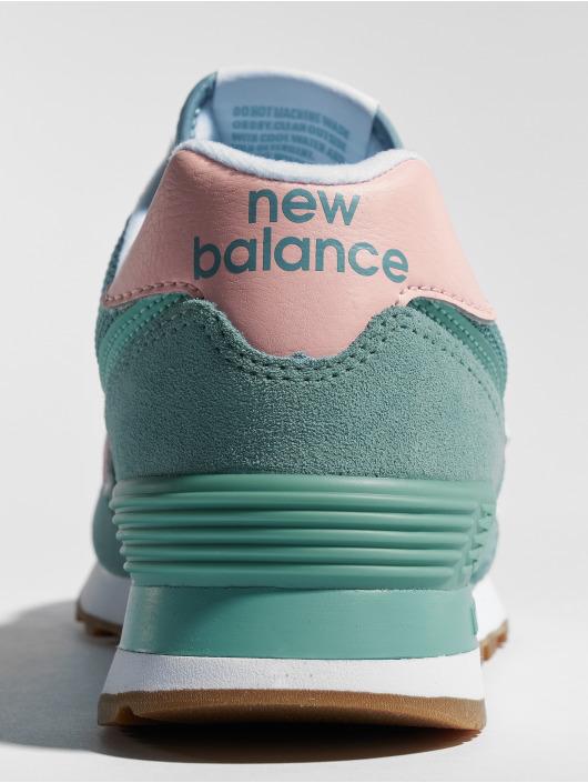 New Balance Baskets WL574 bleu
