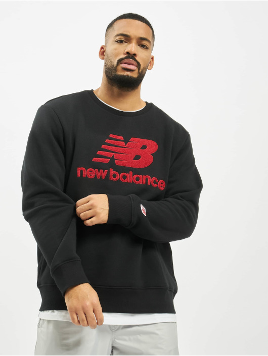 New Balance Pullover MT93546 schwarz