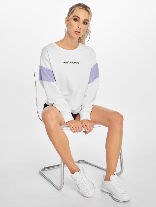 New Balance Pullover WT93502 white