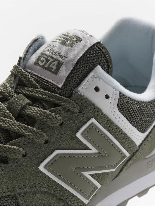 New Balance Sneaker WL574 grün