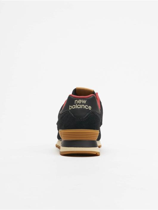 New Balance Sneaker ML574 schwarz
