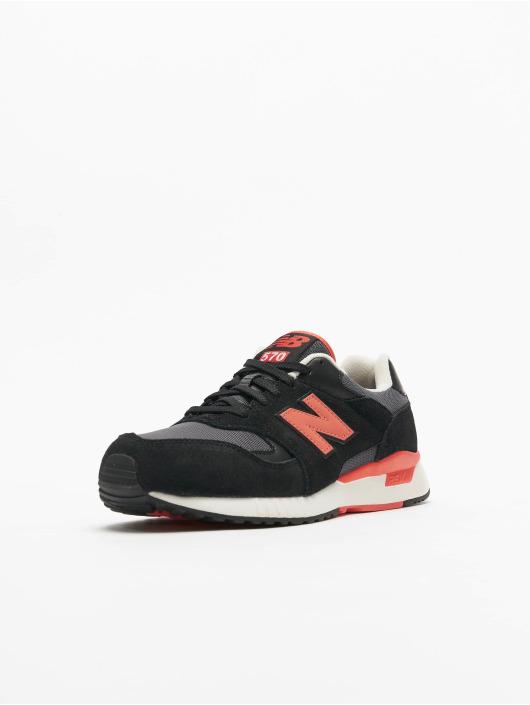 New Balance Sneaker Ml570 D schwarz
