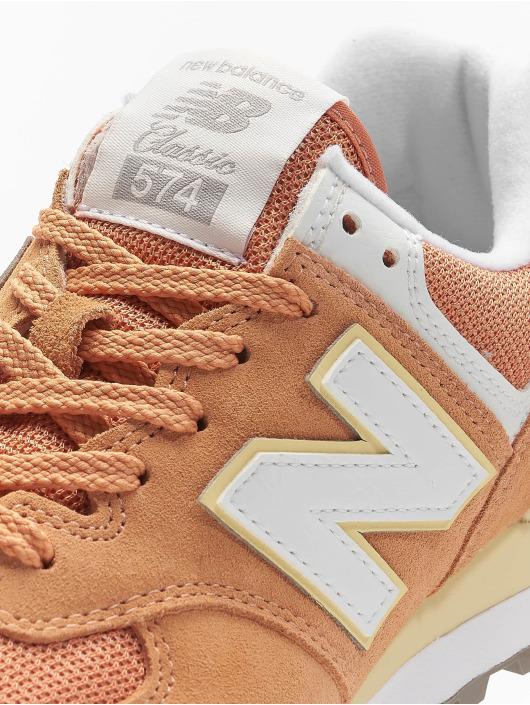 New Balance Sneakers WL574 oranžová