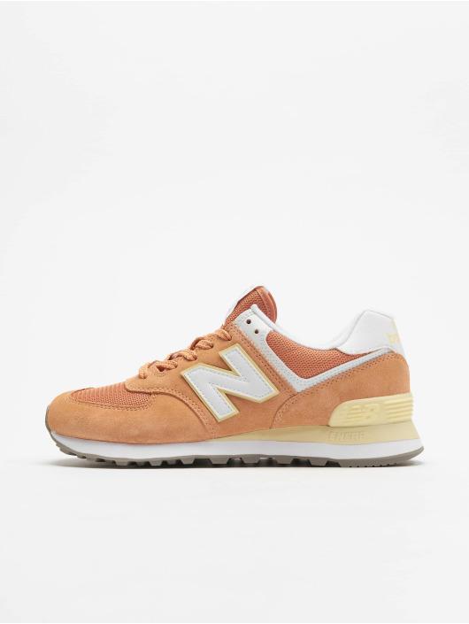 New Balance Sneakers WL574 pomaranczowy