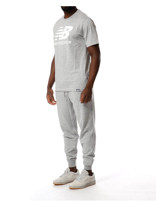 New Balance Spodnie do joggingu  szary