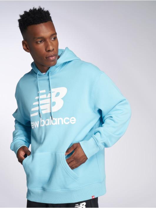 New Balance Sweat capuche MT83585 bleu