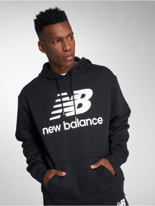 New Balance Sweat capuche MT83585 noir