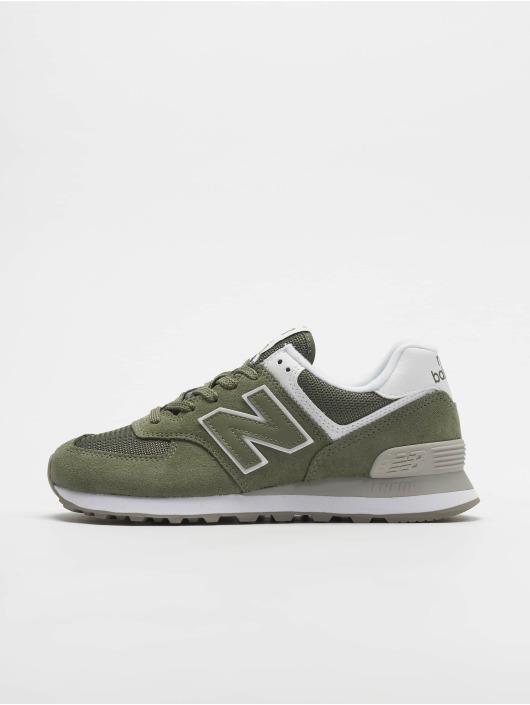 New Balance Tøysko WL574 grøn