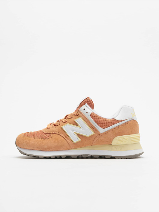 New Balance Tøysko WL574 oransje