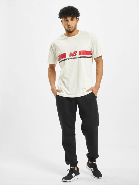 New Balance T-Shirt MT93550 weiß