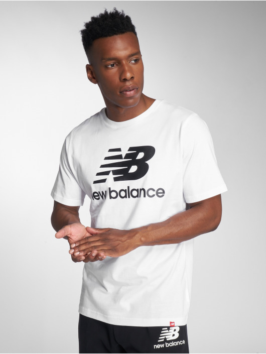 New Balance t-shirt MT83530 wit