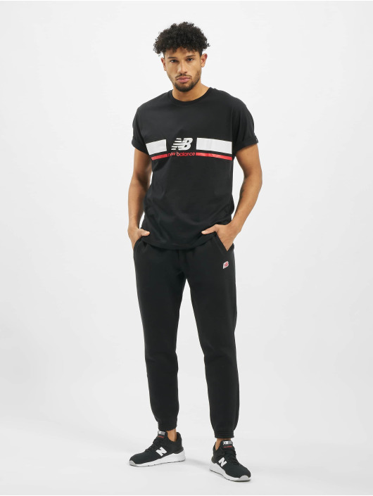 New Balance T-skjorter MT93550 svart