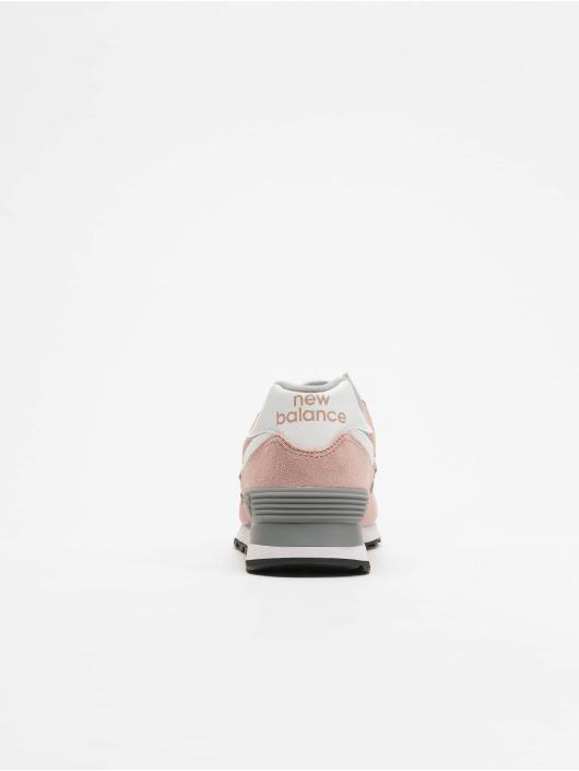 New Balance Zapatillas de deporte WL574 rosa