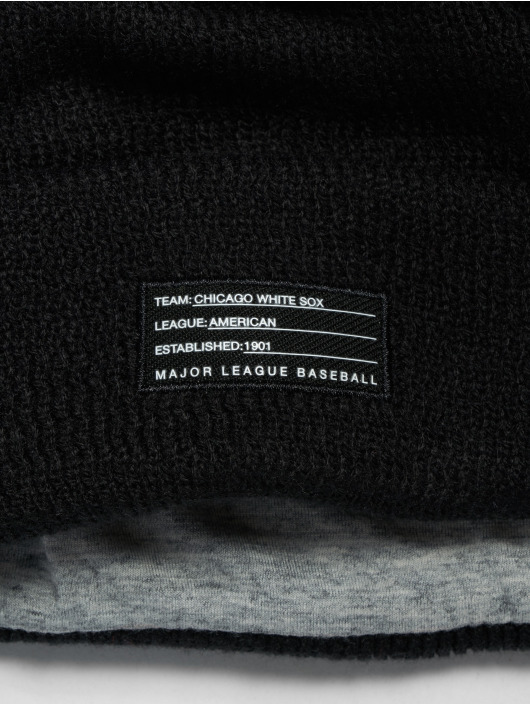 New Era Čiapky MLB Chicago White Sox Sport Knit èierna