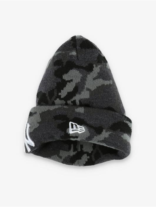 New Era Čiapky MLB NY Yankees Essential Camo Knit šedá