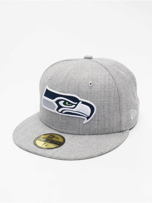 New Era Бейсболка NFL Seattle Seahawks 59Fifty серый