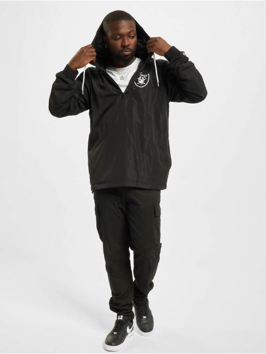 New Era Демисезонная куртка NFL Las Vegas Raiders Outline Logo черный