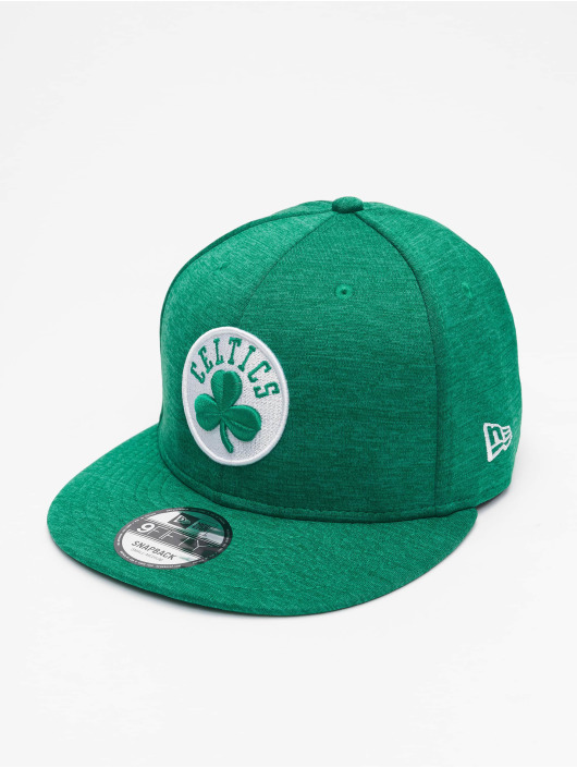 New Era Кепка с застёжкой NBA Boston Celtics Shadow Tech зеленый