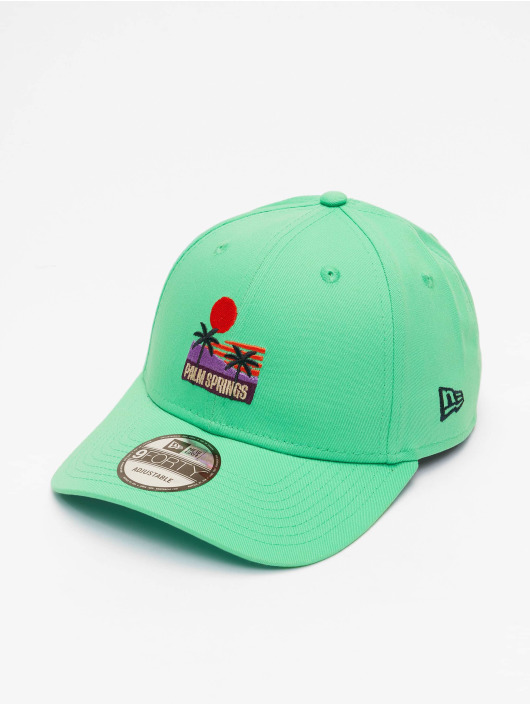 New Era Кепка с застёжкой Summer 9Forty зеленый