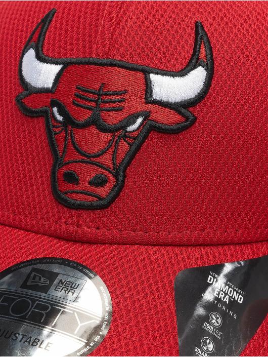 New Era Кепка с застёжкой Nba Properties Chicago Bulls Diamond Era 9forty красный
