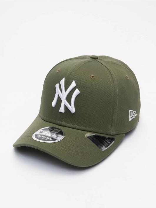 New Era Кепка с застёжкой MLB New York Yankees League Essential 9Fifty оливковый
