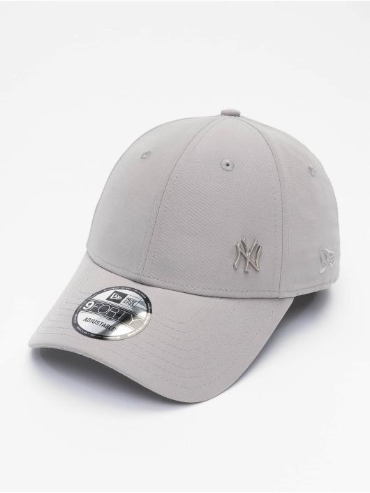 New Era Кепка с застёжкой MLB NY Yankees Flawleshortsleeve Logo серый