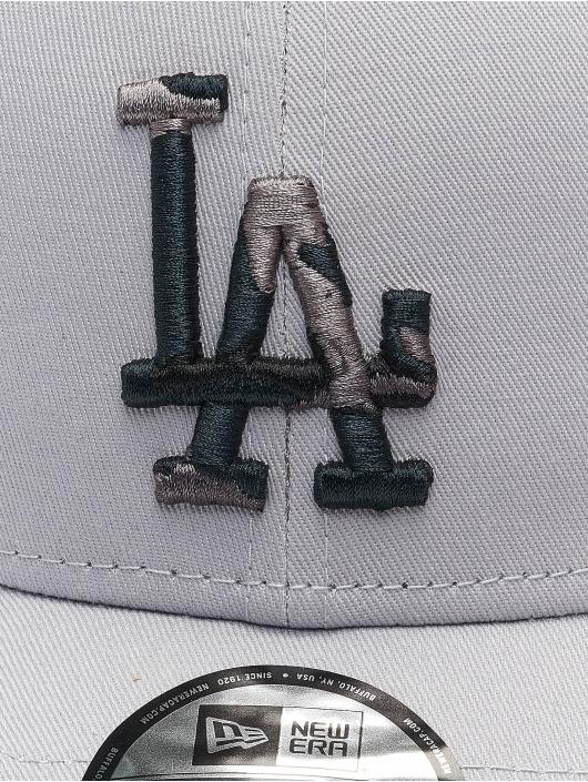 New Era Кепка с застёжкой MLB Los Angeles Dodgers Infill 9Forty серый