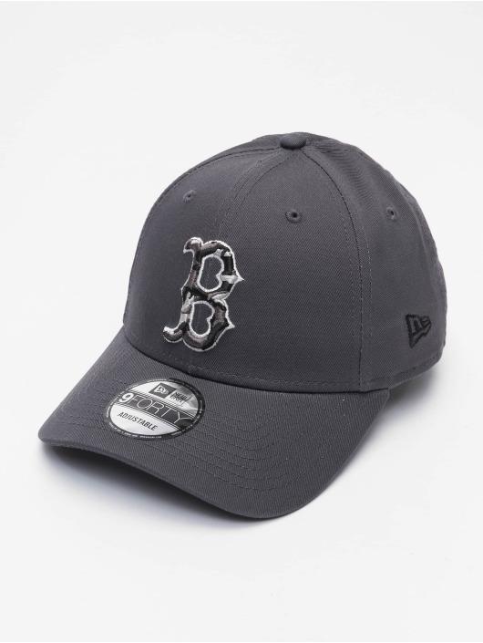 New Era Кепка с застёжкой MLB Boston Red Sox Infill 9Forty серый