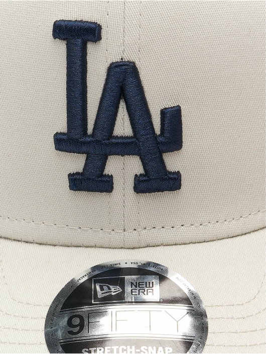 New Era Кепка с застёжкой MLB Los Angeles Dodgers League Essential 9Fifty серый